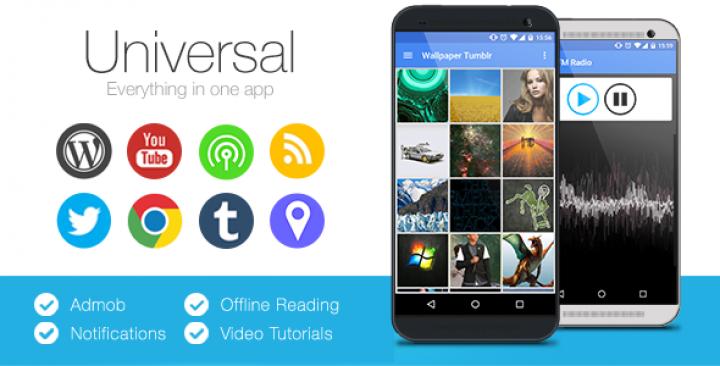 Universal – Full Multi Purpose Android App