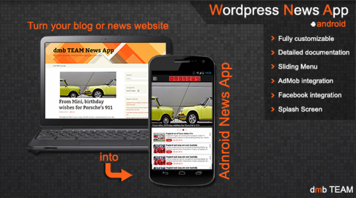 WordPress News App