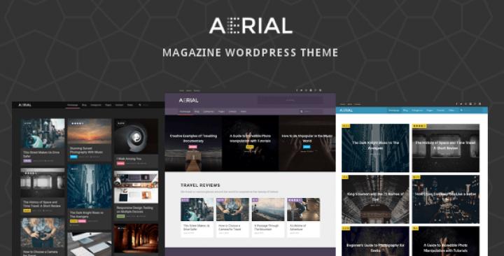 Aerial – Layers Magazine WordPress Theme