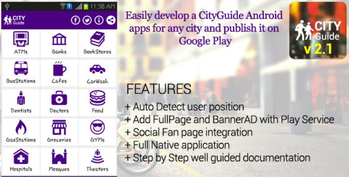 City Guide Android Application