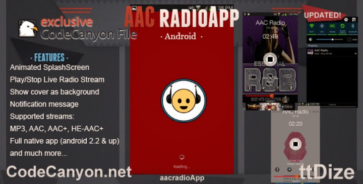 AAC Radio App – Android