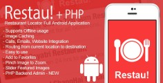 Restau! Full Restaurant Locator Android App