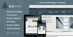 Karma – Responsive WordPress Theme
