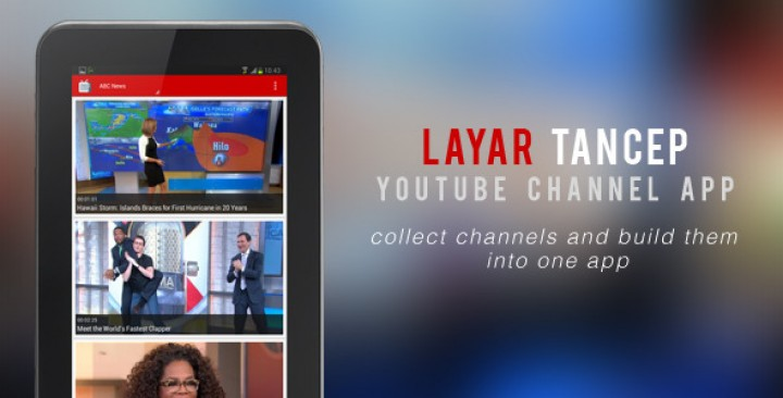 Layar Tancep – Youtube Channel App