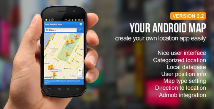 Your Android Map