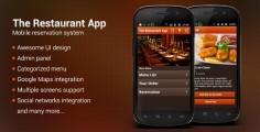 The Restaurant App