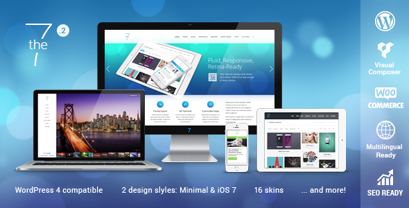 The7 — Responsive Multi-Purpose WordPress