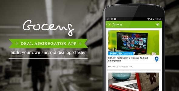 Goceng Deal Aggregator App