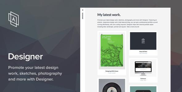 Designer WordPress Theme
